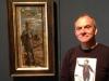 Alan Birch with Saint Selfie