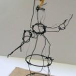 wire maquette, tree study