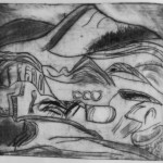 Drypoint produced with Alan Birch