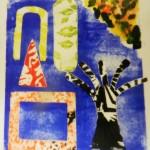 Alan Birch schools printmaking workshop