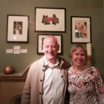 exhibition of prints by Chris and lorraine Waites