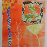 School printmaking workshop with Alan Birch