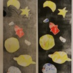 Celestial wallpaper from Whitworth collection