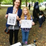 Drypoint workshop in Whitworth Park