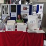 Print stall showing work of Jill Randall and Alan Birch.