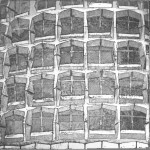 Etching and aquatint by Jo Beggs.