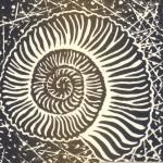 Lino print by Katie Blair