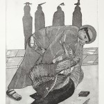 Etching and aquatint