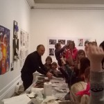 Print workshop . Alan Birch Grundy Art Gallery