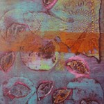 Collograph by Julie Wightman-Lingmoor working with Alan Birch at Prospect Studio.