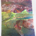 Collograph by Kay Macintosh  working with Alan Birch at Prospect Studio.