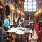 Visitors to Later Day Saints at The John rylands