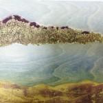 Landscape with lentils