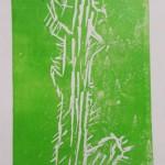 Adult printmaking with Alan Birch.