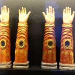 Arm reliquaries in Porto