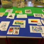 Range of prints completed at Ramsbottom Library
