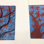 Print workshop with Alan Birch.