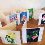 Relief printing cards with Alan Birch