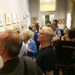 a busy time at gallery