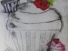 chine collie print. Alan Birch print workshops in school.