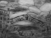Bridge of Sighs . Engraving by Year 5 pupil with Alan Birch