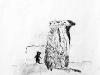 Meerkat defensive wall
